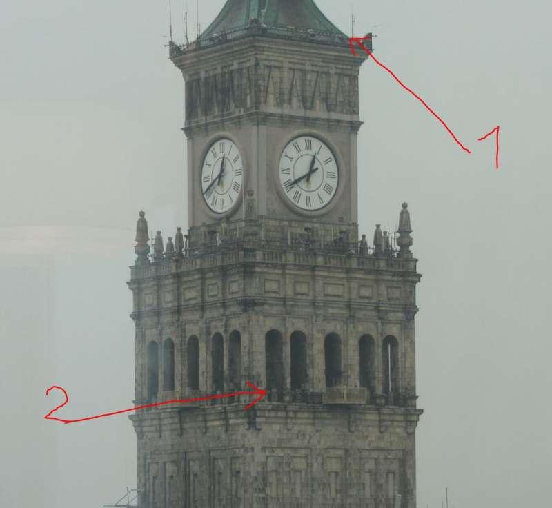 Przeprowadzka z 45 na 37 piętro.   Fot. Jur
